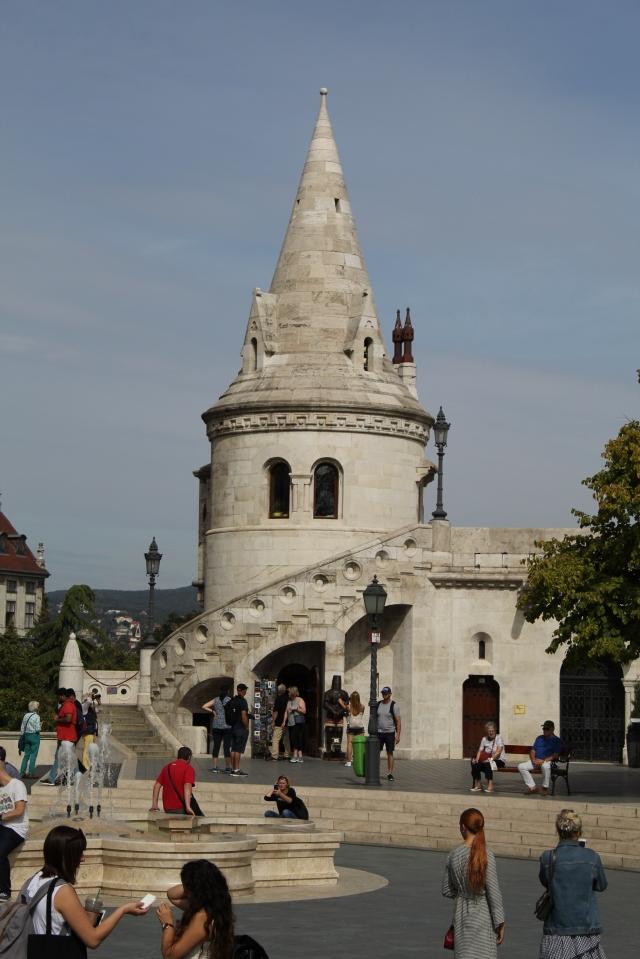 Bastión de los pescadores- Budapest