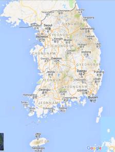 mapa de corea (1)
