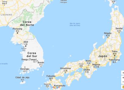 mapa de corea (2)