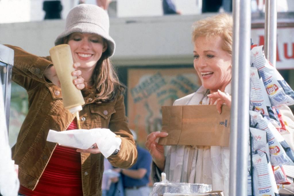 Princesa por sorpresa. Anne Hathaway. Julie Andrews. San Francisco. Fisherman's Wharf. Museo.