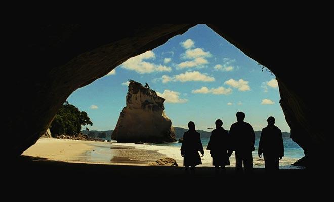 Cathedral Cove. Cair Paravel. Coromandel. Nueva Zelanda. Narnia.
