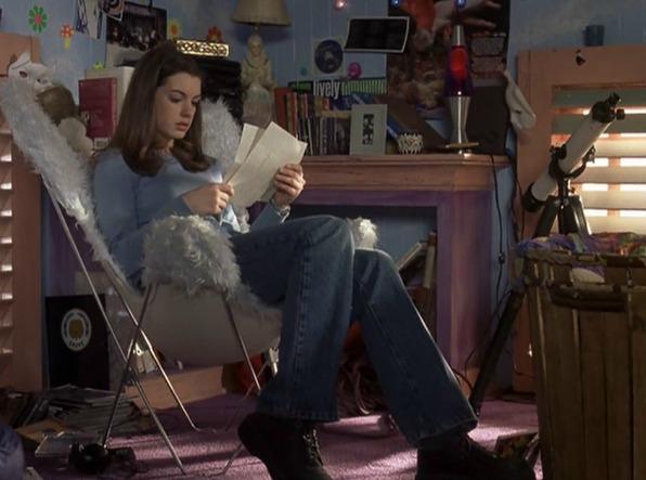 Princesa por sorpresa. Anne Hathaway. Julie Andrews. San Francisco. Engine Company. Estación de bomberos. Avenida Brasil.