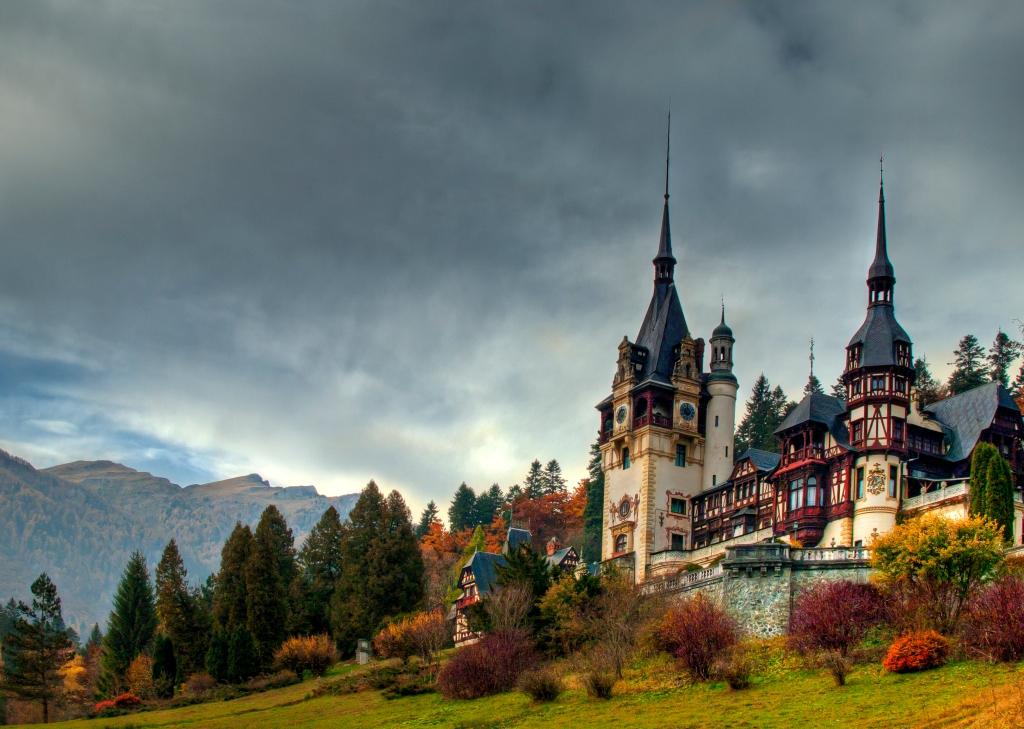 Castillo, Castillo de Peleş, Rumania , Navidad, Un principe de navidad